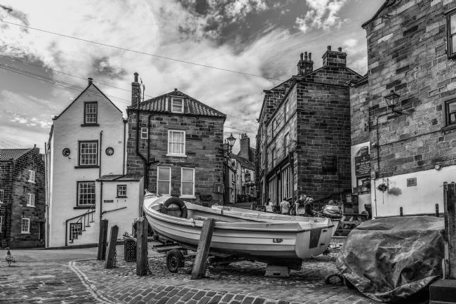 Mike Carroll | Robin Hood's Bay B&W
