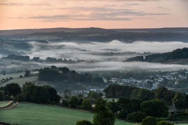 Mike Carroll | Misty Dawn near Eyam
