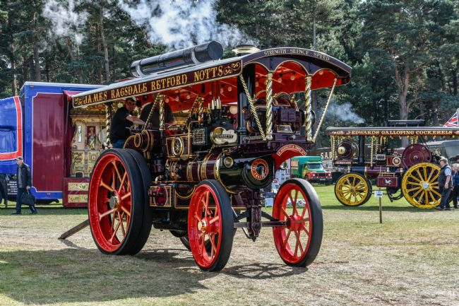 Mike Carroll | Steam Traction ENgine