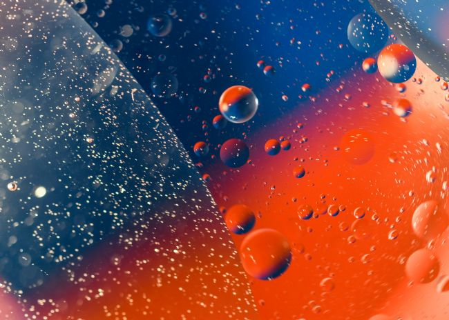 Mike Carroll | Abstract Bubbles (1)