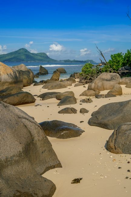 Mark Stinchon | Granite Rocks Seychelles Beach