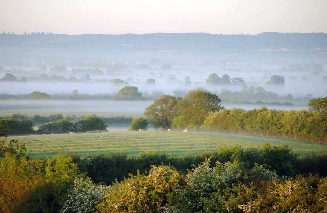 Graham Carnduff-Youngg | Morning Mist in The Vale of Aylesbury