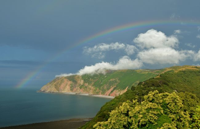 Graham Carnduff-Youngg | Rainbow Over Foreland Point