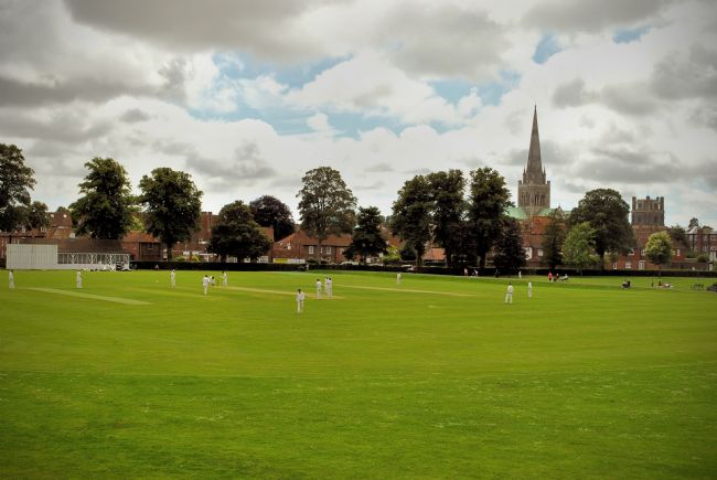 Graham Carnduff-Young | Cricket at Priory Park, Chichester West Sussex