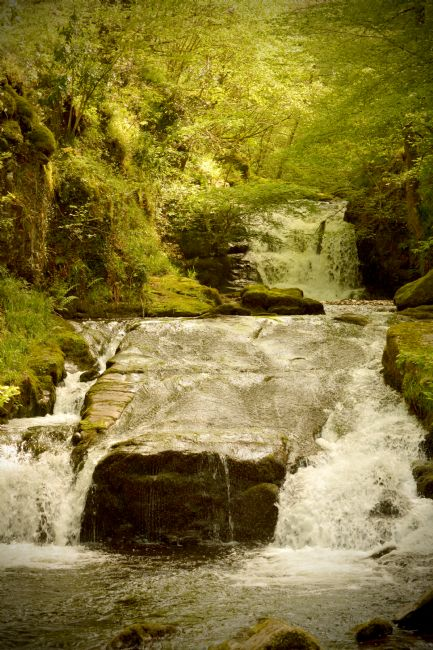 Graham Carnduff-Youngg | The Hoar Oak Waterfall at Watersmeet