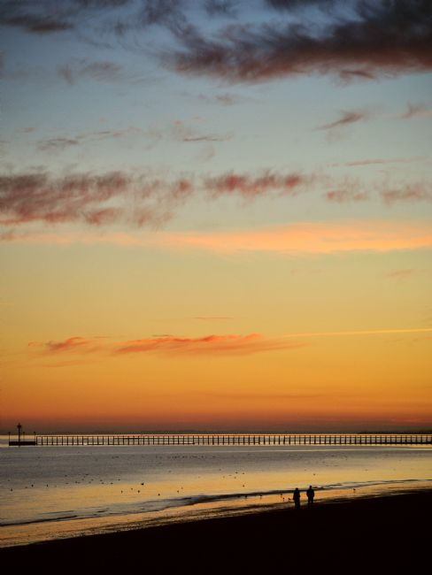 Graham Carnduff-Young | A Sunset Stroll on Littlehampton Beach