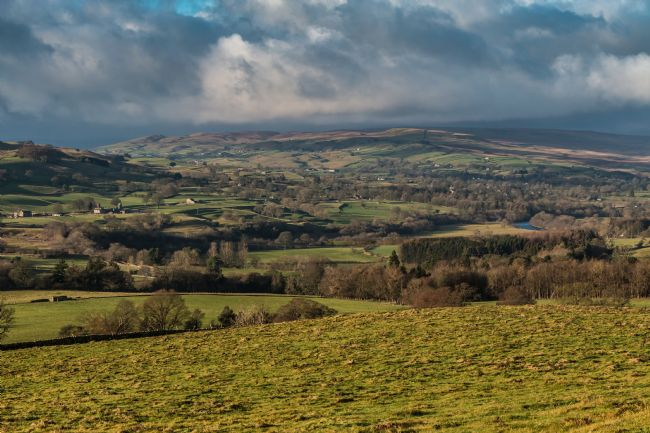 Richard Laidler | Dramatic Winter Sun over Lunedale and Lower Teesdale