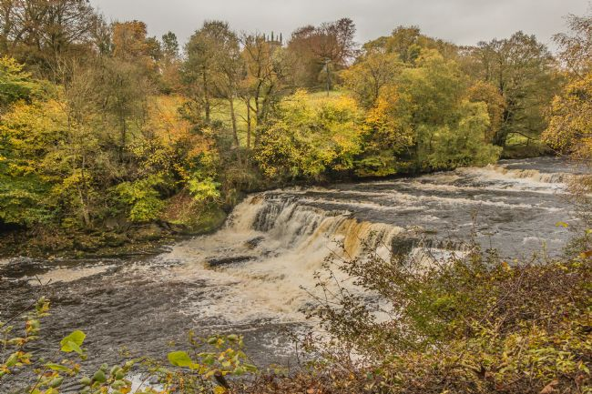 Richard Laidler | Autumn at Middle Falls, Aysgarth, Wensleydale, Yorkshire Dales