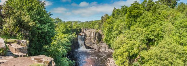 Richard Laidler | High Force Waterfall Panorama, Upper Teesdale