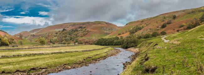 Richard Laidler | The River Swale towards Keld, Swaledale, Yorkshire Dales Panorama