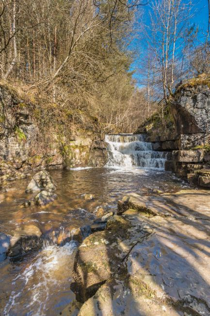 Richard Laidler | Waterfall on Bow Lee Beck, Upper Teesdale, in early spring