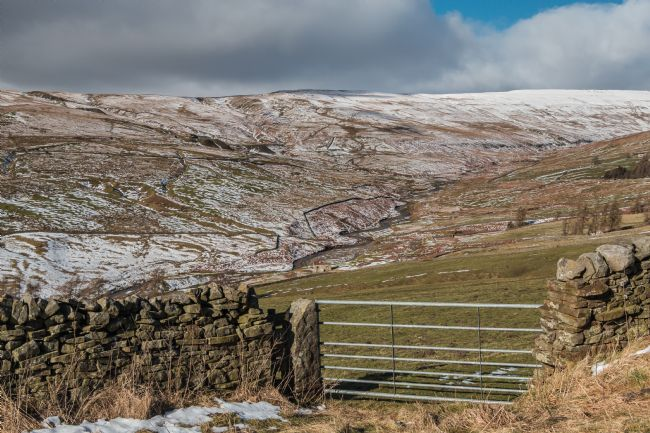 Richard Laidler | The Hudes Hope Valley in Winter