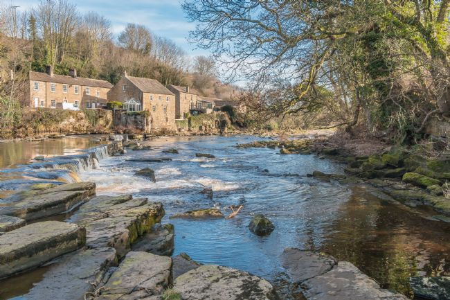 Richard Laidler | The River Tees and Demesnes Mill, Barnard Castle, Teesdale