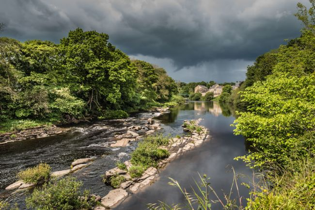 Richard Laidler | Dramatic Light on the Tees at Barnard Castle