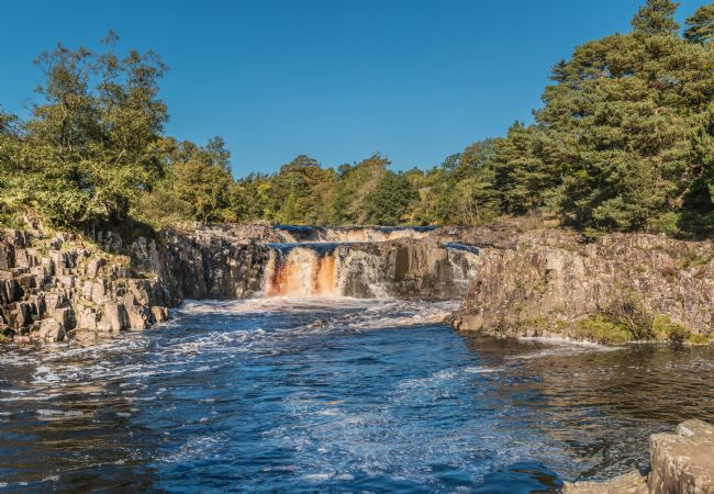 Richard Laidler | A Perfect Autumn Morning at Low Force Waterfall