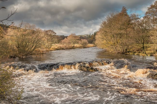 Richard Laidler | Cascade on the River Tees between High Force and Low Force Waterfalls in November
