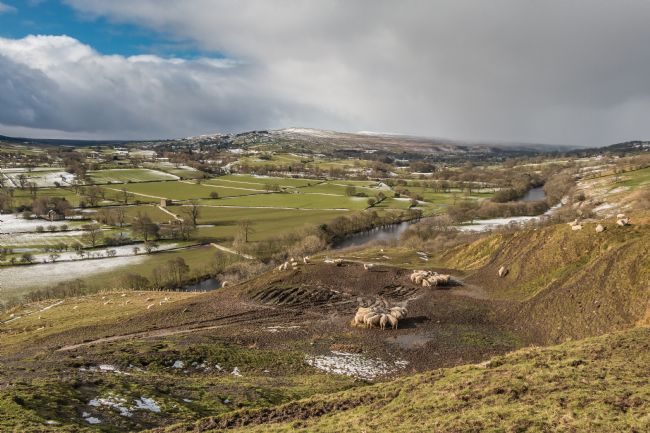 Richard Laidler | Teesdale and Lunedale from Whistle Crag Feb 2020