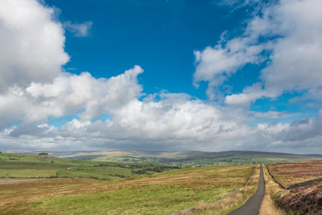 Richard Laidler | Down into Teesdale from Botany Farm