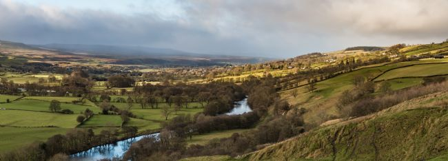 Richard Laidler | Bright Interval over Middleton in Teesdale Panorama