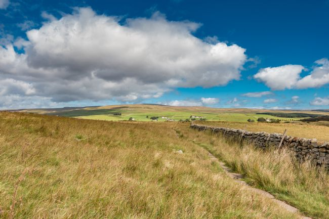 Richard Laidler | Towards Forest in Teesdale from the Pennine Way at Cronkley