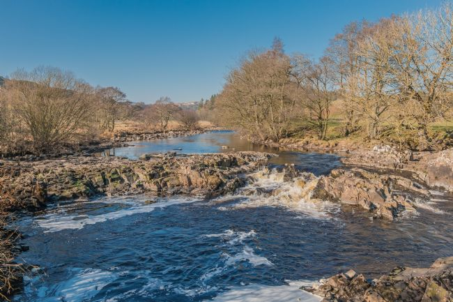 Richard Laidler | Cascade on the River Tees between High Force and Low Force Waterfalls in February