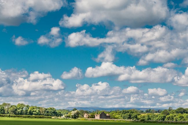 Richard Laidler | Huge Sky over Thorpe, Lower Teesdale