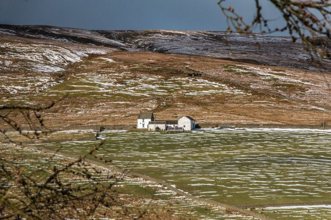 Richard Laidler | Splendid Isolation - Club Gill Farm, Hudes Hope, Teesdale, in Winter