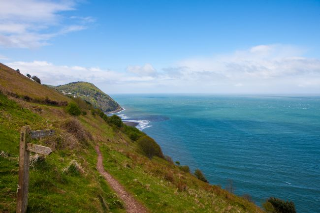 Tom Dolezal | North Devon coastal path.