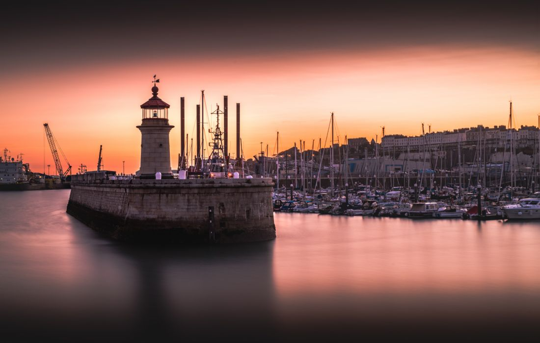 Sam Bradley | Ramsgate Lighthouse Sunset