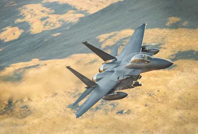 Rory Trappe | F15-Strike Eagle LL in Wales