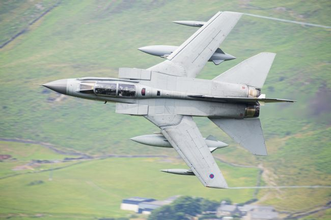 Rory Trappe | RAF Tornado Gr4 - Low level in Wales