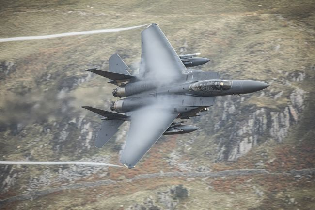 Rory Trappe | F15 Strike Eagle