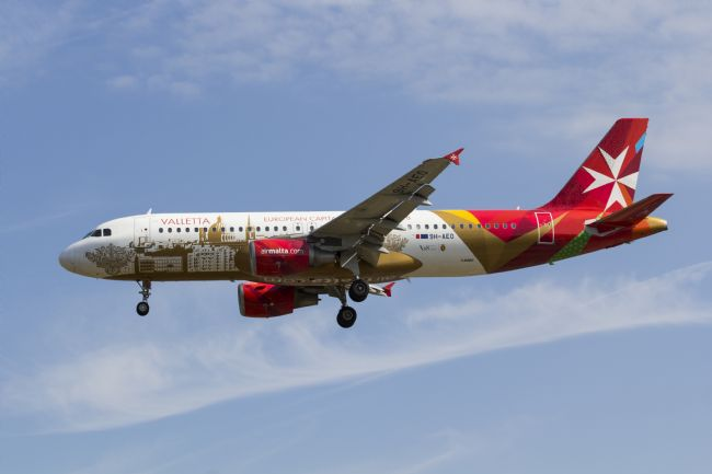 David Pyatt | Air Malta Airbus A320