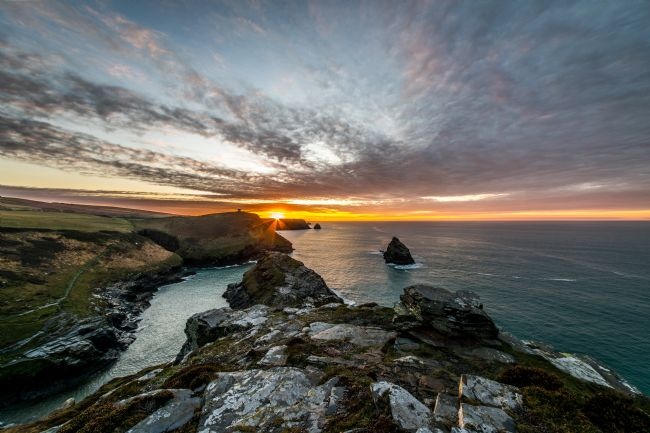 David Wilkins | Boscastle Sunset