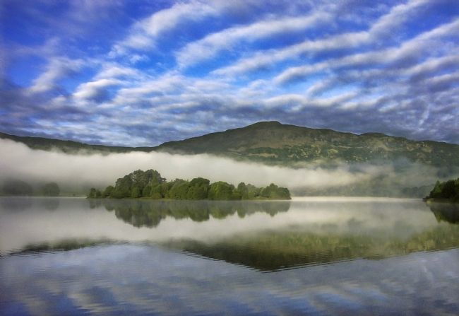 Adrian Campfield | Morning Skies over Lake Grasmere