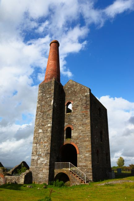 James Brunker | Remains of the Prince of Wales engine house Cornwall