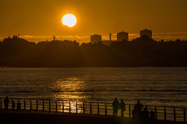 Jon Lines | Partial Solar Eclipse over Plymouth