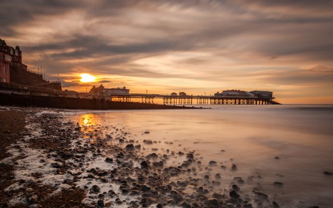 David Powley | Evening light over Cromer Pier