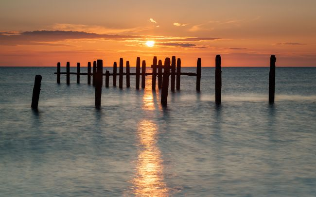 David Powley | Happisburgh Beach Sunrise