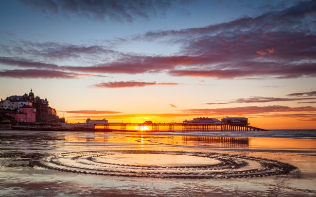David Powley | Cromer Pier summer sunset