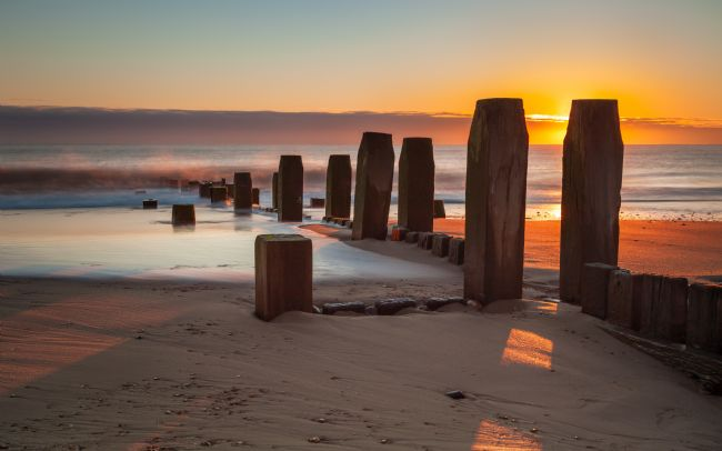 David Powley | Sunrise on Walcott Beach