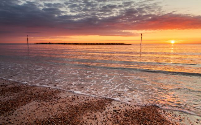 David Powley | Sea Palling Beach Sunrise