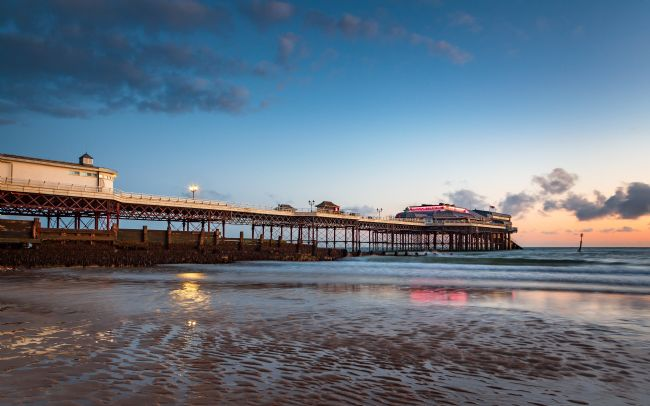 David Powley | Dawn reflections of Cromer Pier