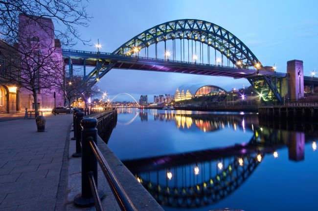Robert Cole | The Tyne Bridge, Newcastle, Dusk