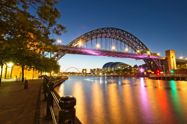 Rob Cole | Tyne Bridge at Dawn, Newcastle