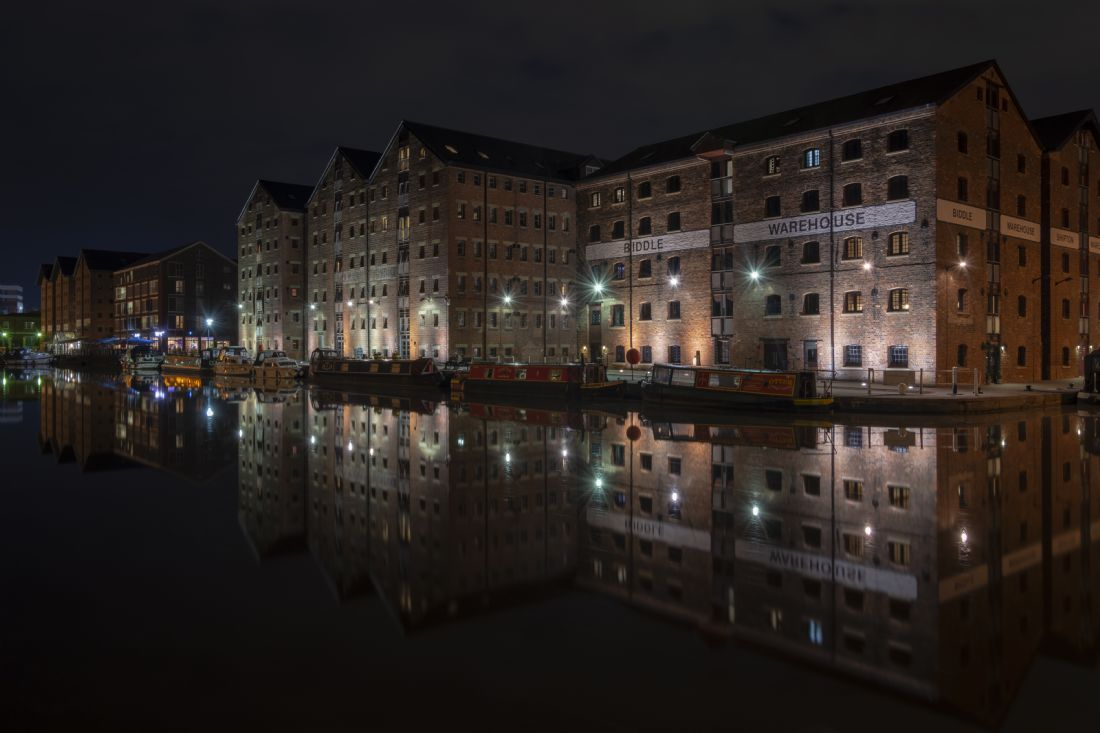 Steve Stamford | Gloucester docks by night