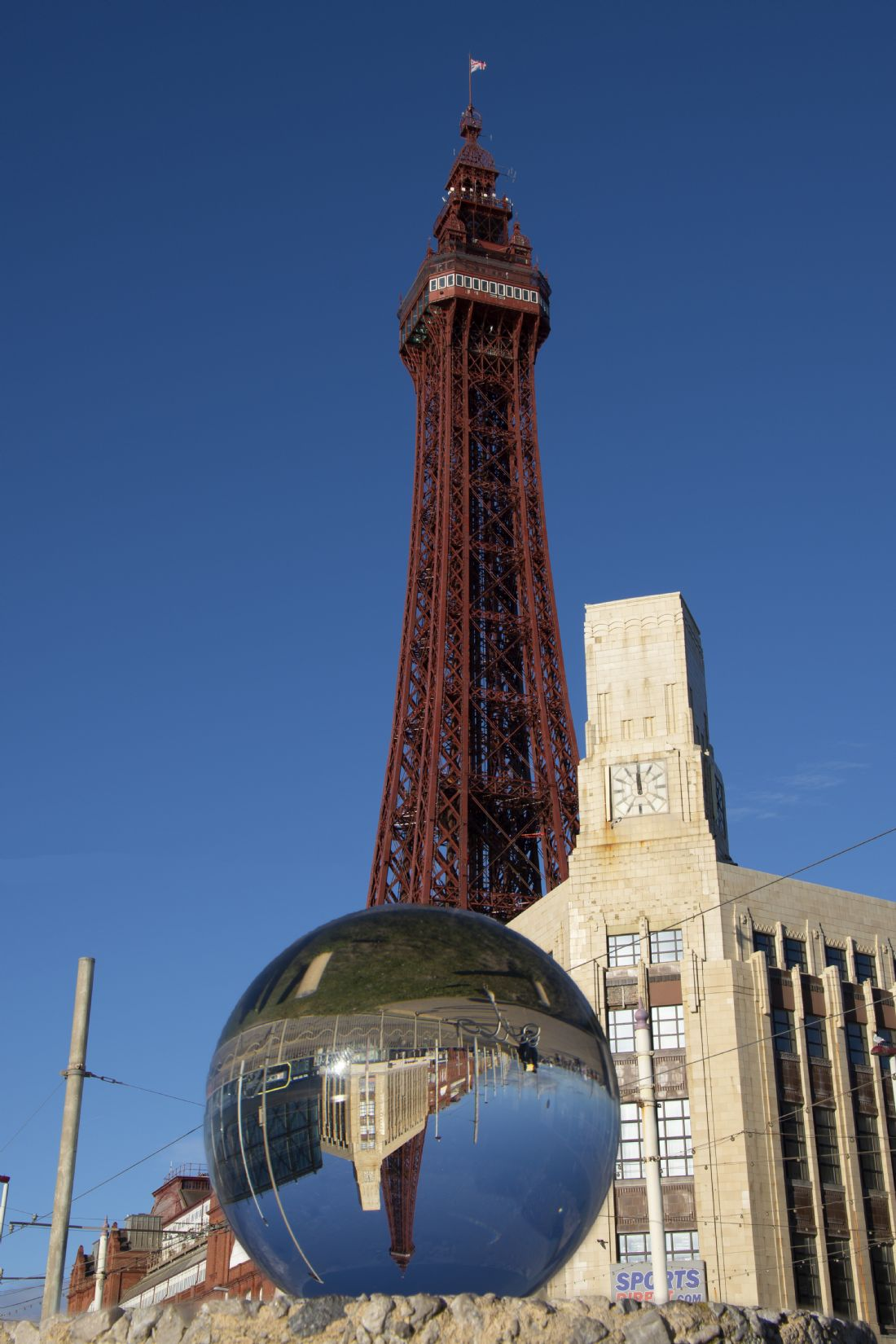 Steve Stamford | Blackpool tower lens ball