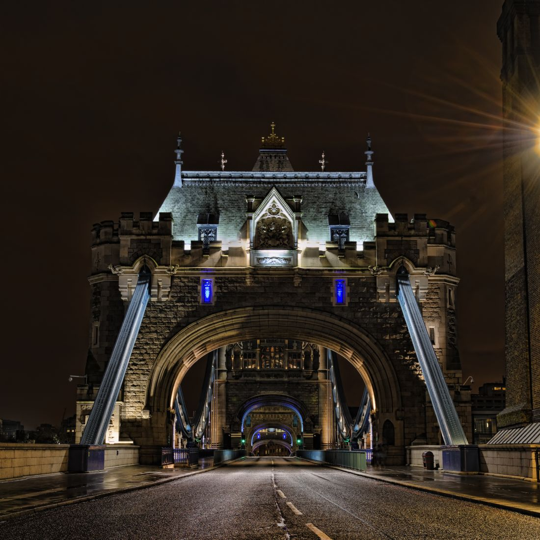 Steve Stamford | Tower bridge drama