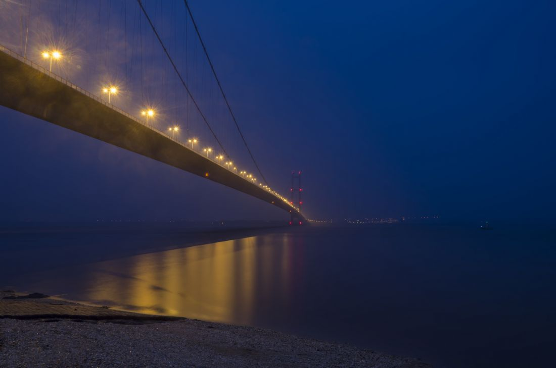 Steve Stamford | Humber bridge twilight