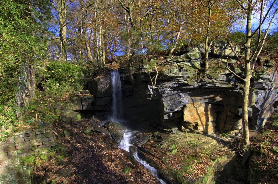 Steve Stamford | Waterfall at Lumsdale